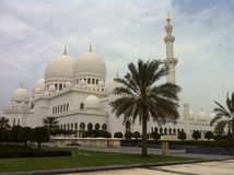 Sheikh Al Zayed Mosque Royalty Free Stock Image