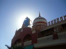 Sheikh EL Sharm, Αίγυπτος Η άποψη του ξενοδοχείου πολυτελείας AQUA BLU Sharm στοκ φωτογραφία με δικαίωμα ελεύθερης χρήσης