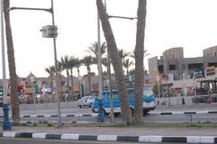 Sheikh EL Sharm μπλε ταξί οδών στοκ φωτογραφία με δικαίωμα ελεύθερης χρήσης