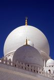 sheikh för Abu Dhabi kupolzayed huvudmoské Arkivbild