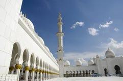 sheikh för moské för abualdhabi zayed nahyan Royaltyfria Foton