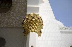 sheikh för moské för abualdhabi zayed nahyan Royaltyfria Bilder