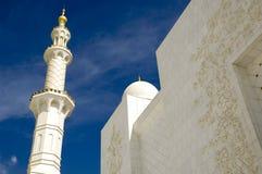 sheikh för moské för abualdhabi zayed nahyan Royaltyfri Bild