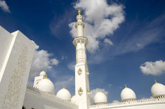sheikh för moské för abualdhabi zayed nahyan Royaltyfri Foto
