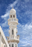 Sheikh Isa Bin Ali Mosque minaret closeview Royalty Free Stock Photography