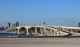 Sheikh Khalifa Bridge, Abu Dhabi Stock Image