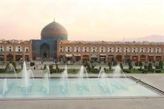 Sheikh Lotf Allah Mesquita, Isfahan, Irã foto de stock