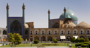 Sheikh Lotf Allah Mosque. Esfahan - Iran view on Sheikh Lotf Allah Mosque Royalty Free Stock Photo