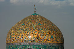 Sheikh Lotf Allah Mosque Dome Stock Image