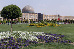 Sheikh Lotf Allah Mosque on the Naqsh-e Jahan Square Stock Images