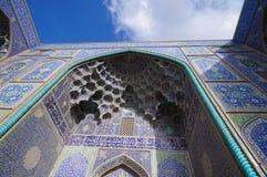 Sheikh Lotfallah Mosque at Naghsh-i Jahan Square, Isfahan, Iran. Royalty Free Stock Photos