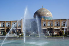 Sheikh Lotfolla da mesquita Fotografia de Stock Royalty Free