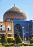 Sheikh Lotfollah Mosque dans Imam Square dans Esfahan Iran images libres de droits