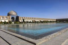 Sheikh Lotfollah Mosque en el cuadrado de Naqsh-e Jahan en Isfahán, Irán imagen de archivo