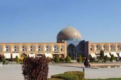 Sheikh Lotfollah Mosque, Iran Images stock