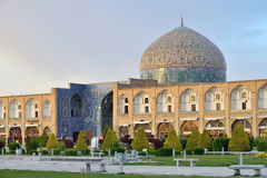 Sheikh Lotfollah Mosque in Isfahan, Iran Stock Photos