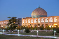Sheikh Lotfollah Mosque in Isfahan, Iran Royalty Free Stock Images