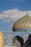 Sheikh Lotfollah Mosque in Naghsh-e Jahan Square, Isfahan, Iran. Royalty Free Stock Photos