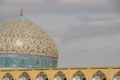 Sheikh Lotfollah Mosque in Naghsh-e Jahan Square, Isfahan, Iran. Stock Images