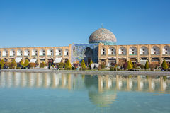 Sheikh Lotfollah Mosque at Naqhsh-e Jahan Square in Isfahan Royalty Free Stock Images