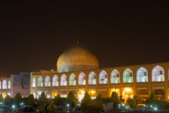 Sheikh Lotfollah Mosque at Naqsh-e Jahan Square in Isfahan, Iran Stock Photos