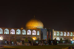 Sheikh Lotfollah Mosque at Naqsh-e Jahan Square in Isfahan, Iran Royalty Free Stock Images
