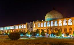Sheikh Lotfollah Mosque no quadrado de Naqsh-e Jahan de Isfahan fotos de stock
