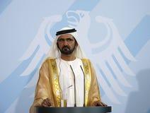 Sheikh Mohammed bin Rashid al Maktoun Royalty Free Stock Photography