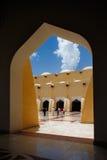 Sheikh Muhammad Ibn Abdul Wahhab State Mosque av Qatar Fotografering för Bildbyråer