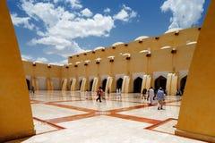 Sheikh Muhammad Ibn Abdul Wahhab State Mosque av Qatar Arkivbilder