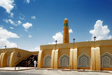 The Sheikh Muhammad Ibn Abdul Wahhab State Mosque of Qatar Stock Photo