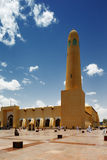 The Sheikh Muhammad Ibn Abdul Wahhab State Mosque of Qatar Stock Photos