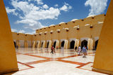 The Sheikh Muhammad Ibn Abdul Wahhab State Mosque of Qatar Stock Images