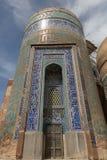 Sheikh Safi mausoleum. The 14th century Allah Allah tower of the Sheikh Safi mausoleum in Ardabil, Iran Stock Photo