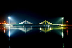 Sheikh Salman Causeway bridge Royalty Free Stock Image