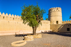 Sheikh Sultan bin Zayed Al Nahyan Fort in Al Ain Stock Images