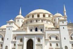 Sheikh Zajed Mosque i Fujairah Arkivbilder