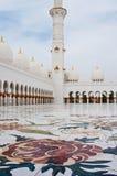 5 ΙΟΥΝΊΟΥ: Sheikh μουσουλμανικό τέμενος Zayed Στοκ φωτογραφίες με δικαίωμα ελεύθερης χρήσης