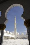 Sheikh Zayed Al Nahyan Mosque - Abu Dhabi royalty free stock photo