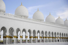Sheikh Zayed Al Nahyan Mosque - Abu Dhabi Stock Photos
