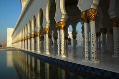 Sheikh Zayed Al Nayhan Mosque Stock Images