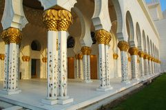 Sheikh Zayed Al Nayhan Mosque Stock Photo