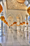Sheikh Zayed Bin Sultan Al Nahyan Mosque Stock Photography