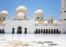Sheikh Zayed Bin Sultan Al Nahyan Mosque, Abu Dhabi, árabe unido Fotos de Stock