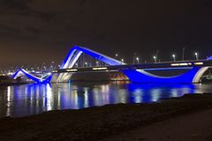 Sheikh Zayed Bridge stock foto's