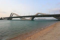 Sheikh Zayed Bridge, Abu Dhabi Stock Photography