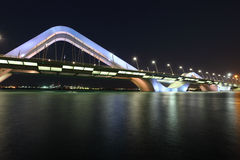 Sheikh Zayed Bridge, Abu Dhabi Stock Photography