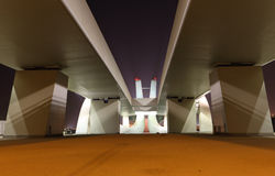 Sheikh Zayed Bridge, Abu Dhabi Royalty Free Stock Photos