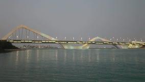 Sheikh Zayed Bridge in Abu Dhabi Stock Photos