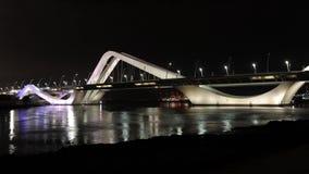 Sheikh Zayed Bridge en Abu Dhabi clips vidéos